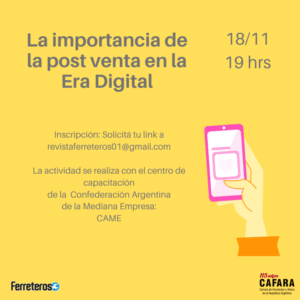 Pos venta digital